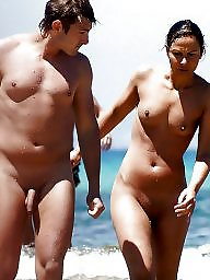 Nudist, Hanging, Couple, Nudists, Couples