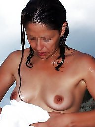 Nudist, Mom, Mature nudist, Mature beach, Nudists, Beach