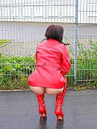 Flashing, Red, Public slut