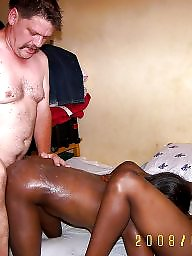 African, Man, Woman, White and black, Ebony interracial