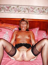 Grannies, Nylon, Granny stockings, Nylons, Granny nylon, Granny stocking