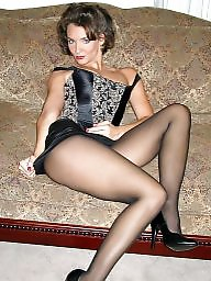 Milf stockings, Sexy milf