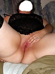 Spreading, Spread, Shaved, Bbw spread, Bbw stockings