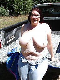 Outdoor, Bbw outdoor, Posing, Outdoors, Pose, Amateur big boobs