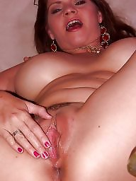 Spreading, Mature spreading, Spread, Mature redhead, Mature spread, Red