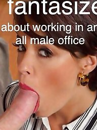Bondage, Bdsm, Secretary, Blowjob, Boss