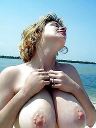 Vacation, Mature beach, Beach mature, Mature boobs, Horny, Horny mature