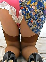 Satin, Suspenders