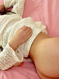 Socks, Asian pussy, Stockings pussy, Asian stockings