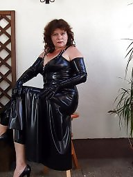 Latex, Pvc, Leather, Boots, Mature boots, Mature leather