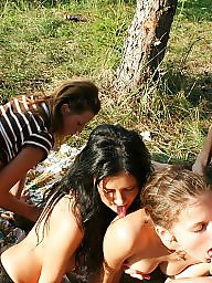 Group, Outdoors, Outdoor sex, Fun