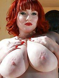 Bbw milf, Bbw redhead