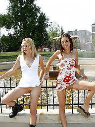 Upskirts, Public nudity