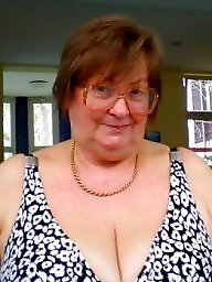 Cleavage, Bbw granny, Granny bbw, Granny big boobs, Granny boobs, Mature faces