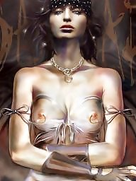 Manga, Erotic, Big nipples, Fantasy