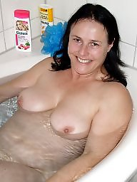 Bath, Wife, Wifes, Bathing