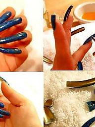 Fingering, Nails