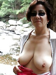 Tease, Mature flashing, Teasing, Mature flash, Women, Mature women