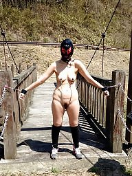Bondage, Outdoor, Outdoors, Amateur bondage