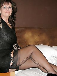 Stocking mature, Wanking, Wank