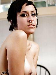 Piercing, Pierced, Big nipples, Nipples, Pierced nipples, Nipple piercing