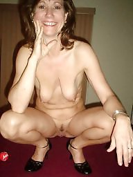 Mature stocking, Voyeur mature