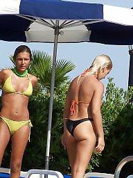 Cameltoe, Topless, Beach, Nude beach