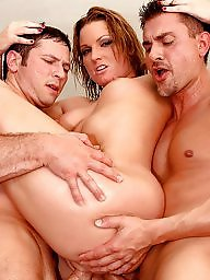 Double, Groups, Double anal, Group sex