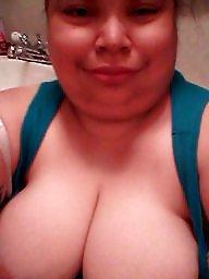 Latin, Big boob, Bbw latin