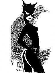 Cartoons, Costume, Woman
