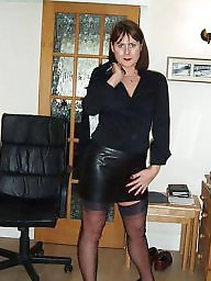 Leather, Mature leather, Milf leather, Milf in leather