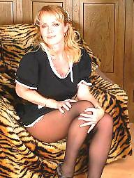 Vintage, Dressed, Dress, Lady, Ups, Upskirt stockings
