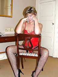 Hotel, Uk mature, Stocking mature