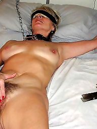 Beauty, Mature blonde, Blonde mature, Submissive, Carol, Mature bdsm