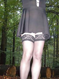 Stockings, Outdoor, Amateur, Public, Stocking, Public stockings