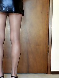 Skirt, Heels, Upskirts, Mini skirt