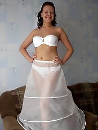 Bride, Wedding, Stockings, Brides, Amateur stockings
