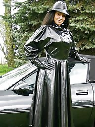 Leather, Latex, Pvc, Mature, Mature leather, Amateur milf
