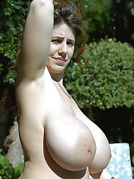 Saggy tits, Saggy, Huge tits, Areola, Nipple, Huge nipples