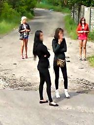 Street, Whore, Poland, Public voyeur, Whores