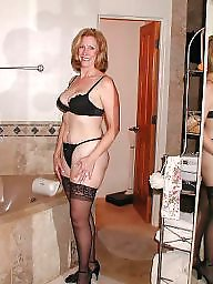 Whore, Sharing, Stocking mature, Shared, Mature whore, Milf stocking