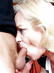 Granny, Granny blowjob, Granny facial, Oral, Mature facial, Grannies
