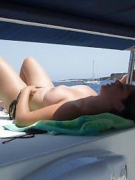 Topless, Flashing, Boat
