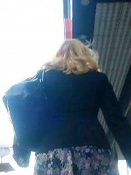Spy, Hidden, Legs, Leggings, Skirt, Romanian