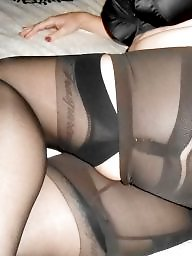 Girdle, Stockings, Stocking, Mature girdle