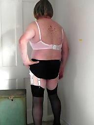 Mature, Stockings, Stocking, Dress, Mature stocking, Dressed