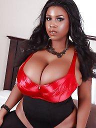 Big tits babe, A bra