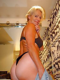 Mature blonde, Strip, Mature strip