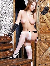 Lingerie, Teen lingerie, Heels, Stockings, Amateur stockings, Amateur lingerie