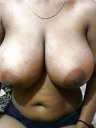 Indian, Big nipples, Indian mature